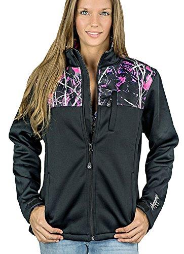 Muddy Girl Protek Soft Shell Jacket [Camo Shoulders] (L)
