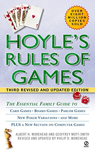 Hoyle Poker Rules - Hoyle's Rules of Games: The Essential Family Guide to Card Games, Board Games, Parlor Games, New Poker Variations, and More