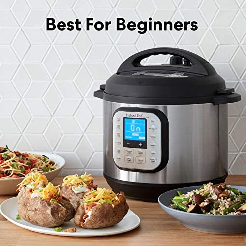 51rXssOyLiL. AC Instant Pot Duo Nova 7-in-1 Electric Pressure Cooker, Slow Cooker, Rice Cooker, Steamer, Saute, Yogurt Maker, Sterilizer, and Warmer, 6 Quart, 14 One-Touch Programs    From the manufacturer