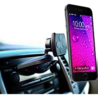 Car Mount, MintCell Magnetic Cradle-less Smartphone Car Holder - Enhanced CD Slot One Snap Version for all iPhones and Samsung Galaxy, Note, LG G4, and other cell Phones and Mobile Devices
