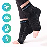 Soxatones - Premium Plantar Fasciitis Socks - Dr. Recommended Therapeutic Compression Foot Sleeves- Improve Blood Circulation - Relieve Arch Pain,Swelling,Tendonitis - for Men & Women L/XL …