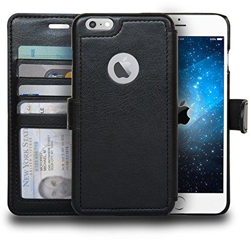 Navor Premium Zevo-S2 Slim Durable & Lightweight Wallet Case with Apple Logo...
