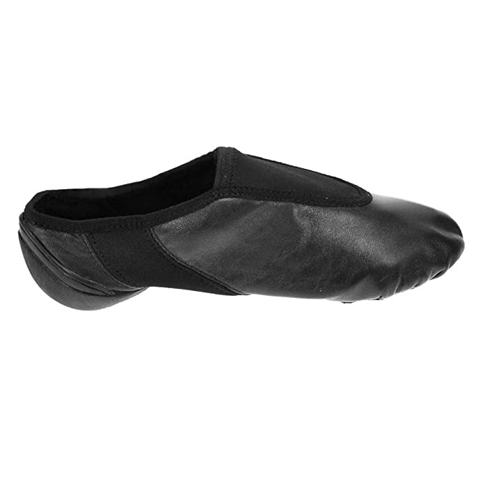 Starlite Negro Hyper Easy Slip On Leather Jazz Shoe 8L Kejr1e