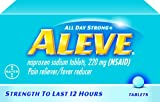 Aleve Tablets, 24-Count (Pack of 2)