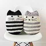 Knit Picks Mighty Mini Kitty Pouf Knitting Pattern