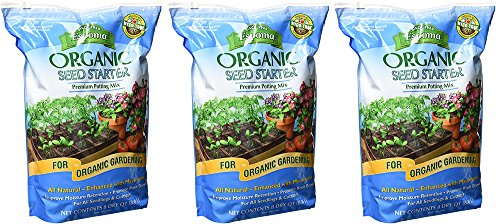 Espoma Organic CCyea Seed Starter, 8 Quart (3 Pack) by Espoma
