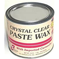 Staples 211 Carnauba Paste Wax, 1-Pound, Clear by Staples