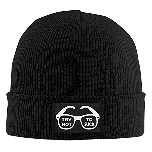 (Beanie Knit Cap Try Not To Suck Joe Maddon Baseball Fashion Adult)