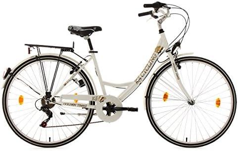 KS Cycling Golden Times - Bicicleta de paseo para mujer, color ...