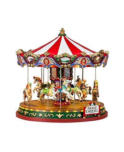 - Lemax The Grand Carousel With 4.5V Adaptor