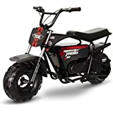 Monster Moto MM-E1000-BRM Electric Mini Bike with Mag Wheels, Assembled in the USA (1000 Watt, Black)