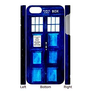 SpecialCasedesign Personalized Police Box Tardis Doctor Who iPhone 5 5S Case Best Durable Back Cover