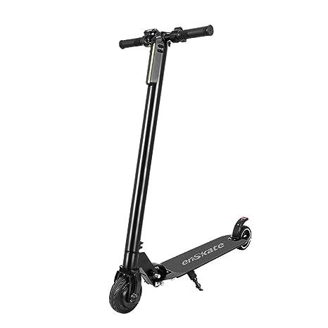 Y&XF Scooter eléctrico liviano Plegable para ...