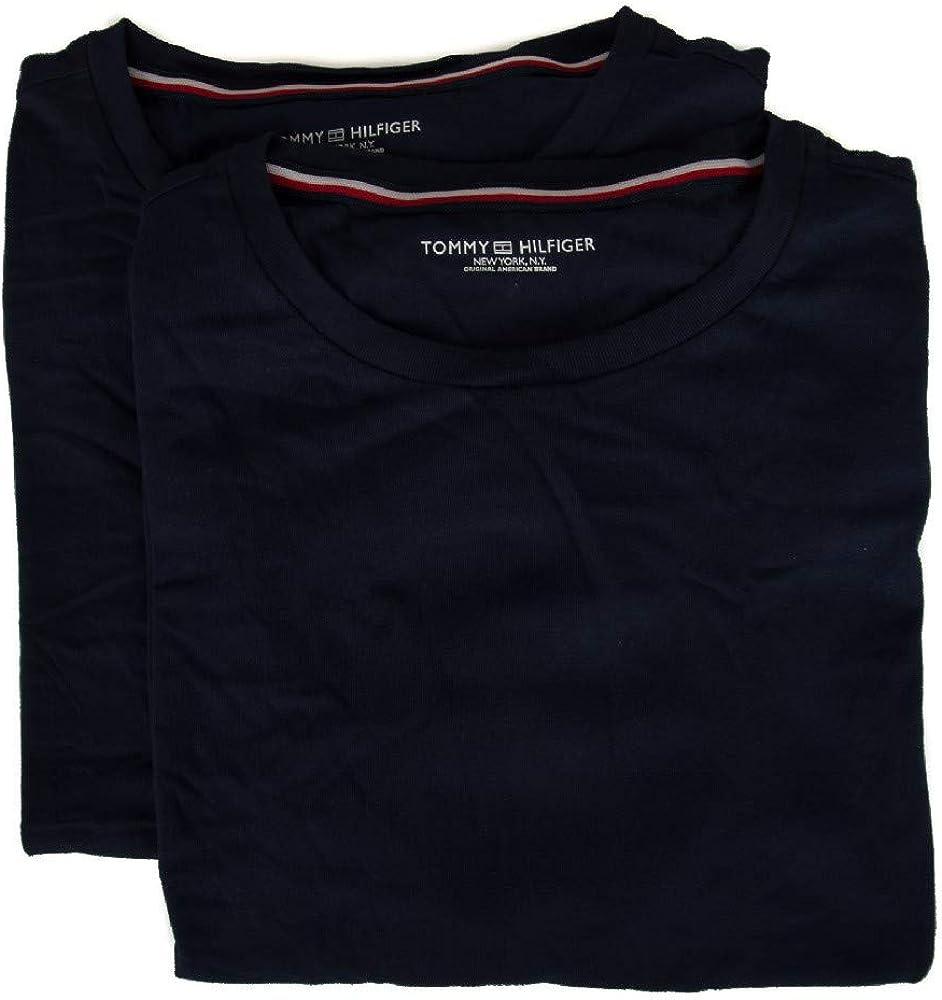 Tommy Hilfiger Pack de 2 t-Shirt bipack Camiseta de Cuello Redondo Manga Corta Hombre artículo UM0UM01030: Amazon.es: Ropa y accesorios
