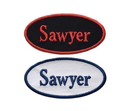 Name Patch - Custom Embroided Name Tag Iron On Patch - OVAL-4