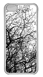 Customized iphone 5C PC Transparent Case - Tree 19 Personalized Cover