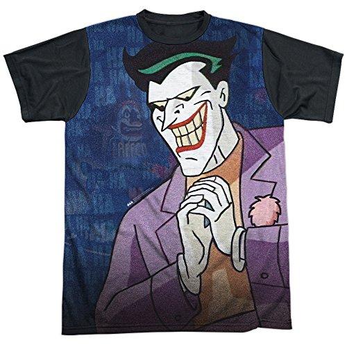 Trevco Men's Batman Animated Series Plotting Sublimated Adult T-Shirt at Gotham City Store