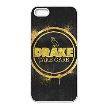iPhone 5 5s Cell Phone Case White Drake Ovo Owl kigc: Amazon ...