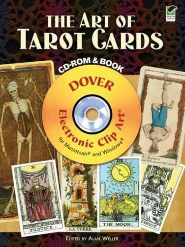 Download The Art of Tarot Cards CD-ROM and Book (Dover Electronic Clip Art) pdf