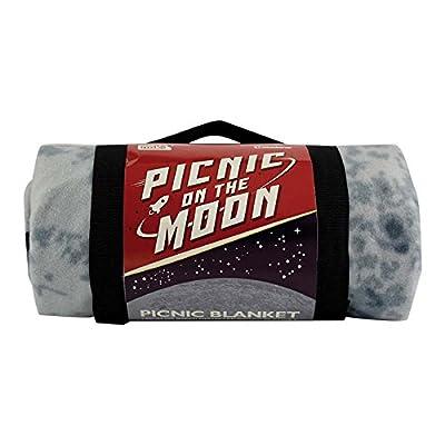 Paladone Picnic on The Moon -Throw Blanket : Garden & Outdoor