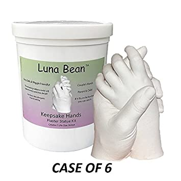 Amazon com : Keepsake Hands Luna Bean Casting Statue Kit