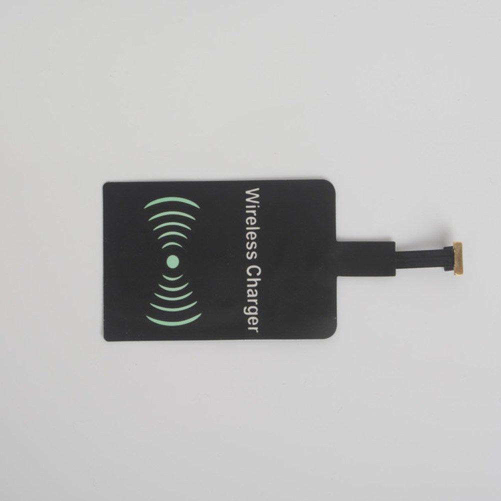 Lenovo Millet UKCOCO Universal Qi Standard Pel/ícula de Receptor de Carga Inal/ámbrica para Micro USB Recepci/ón de Patch para Samsung