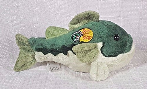 Bass Pro Shops Animal Adventures Green Plush 8  Fish