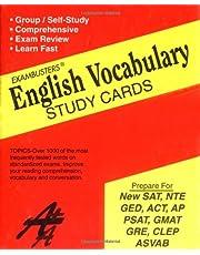 Exambusters English Vocabulary Study Cards