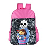 STALISHING Kid's Undertale Frisk And Sans School Bag Backpack