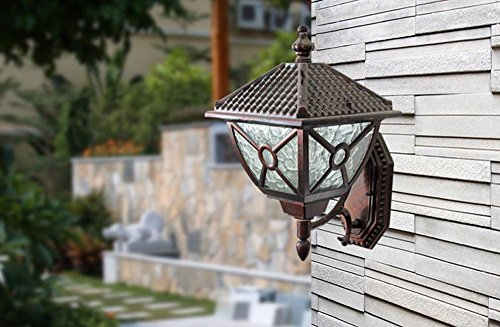 Medium European Style Door - European-Style Wall Light Outdoor Balcony Waterproof Wall Lamp Small And Medium-Sized Door Garden Light Aisle Lamp Wall Lamp Staircase Wall Lamp