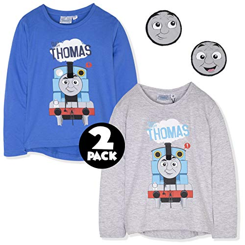 Paw Patrol Boys Long Sleeve 100/% Cotton Top T-Shirt with Marshall or Rubble 2-6 Years 2018//19