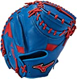 Mizuno MVP Prime Special Edition 34' Catchers Mitt - GXC50PSE5, Royal-Red, 34 INCHES (3400)