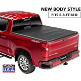 Gator ETX Soft Tri-Fold Truck Bed Tonneau Cover | 59115 | fits Chevy/GMC Silverado/Sierra 1500 (5 ft 8 in bed) 2019, New Body Style