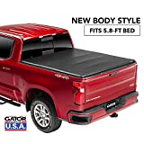 Gator ETX Soft Tri-Fold Truck Bed Tonneau Cover | 59115 | fits Chevy/GMC Silverado/Sierra 1500 (5 ft 8 in bed) 2019