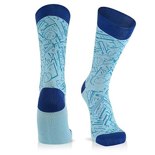 Architect Gift - Cool Socks For Men: Mens Funny Dress Socks: Novelty Crazy & Funky Colorful Sock: Architect Engineer