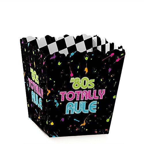 80's Retro - Candy Boxes Totally 1980s Party Favors (Set of 12)
