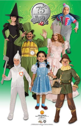 $37.76. Officially licensed Wizard of Oz ...  sc 1 st  Funtober & Rubieu0027s Costume Wizard Of Oz 75th Anniversary Edition Adult Wicked ...