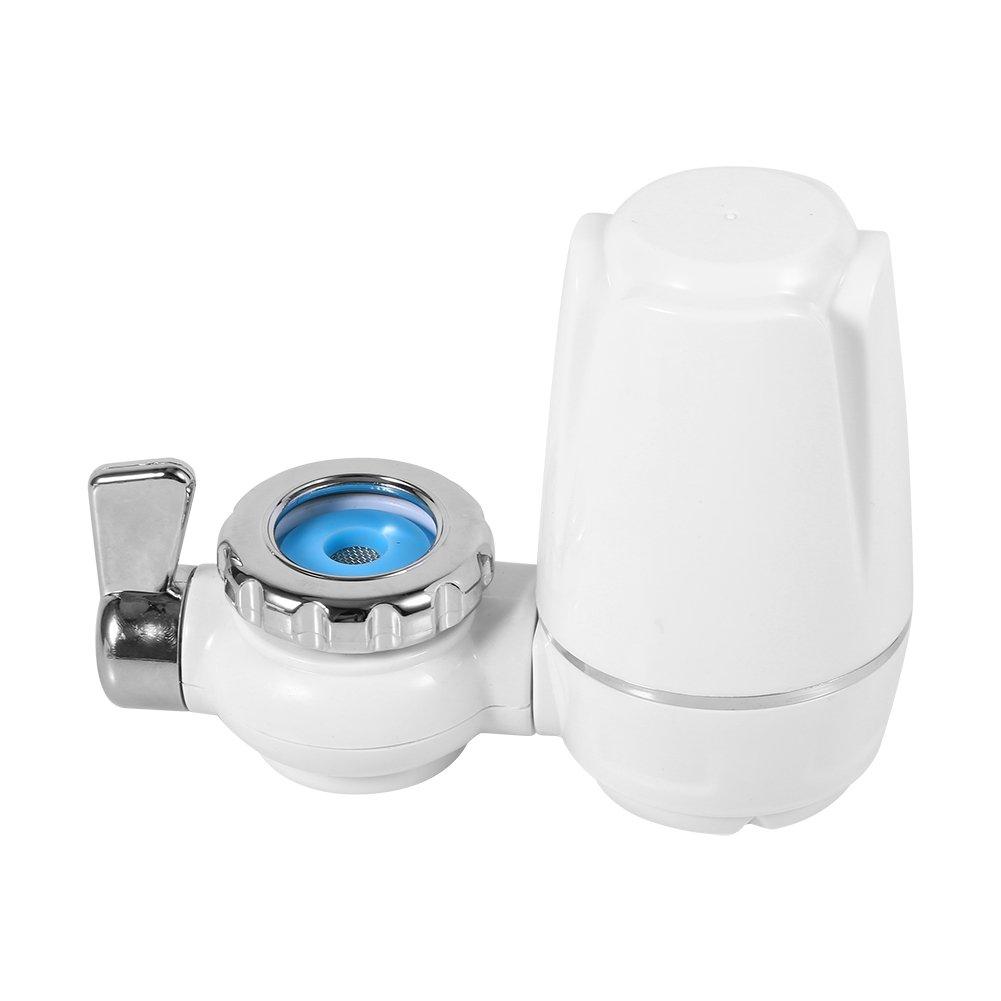 Fdit Tapa grifos filtros Lavable Sistema Limpiador hogar Sano purificador de Agua para hogar Cocina