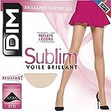 Dim - Sublim Voile Brillant, Collant donna, Grau, Large (Taglia produttore: 3)