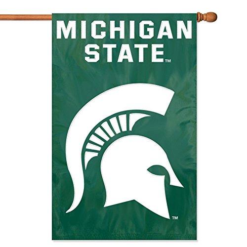 Michigan State 44x28 Applique Banner - 2