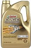 Castrol 03086 EDGE Extended Performance 5W-20 Advanced Full Synthetic Motor Oil, 5 Quart, 3 Pack