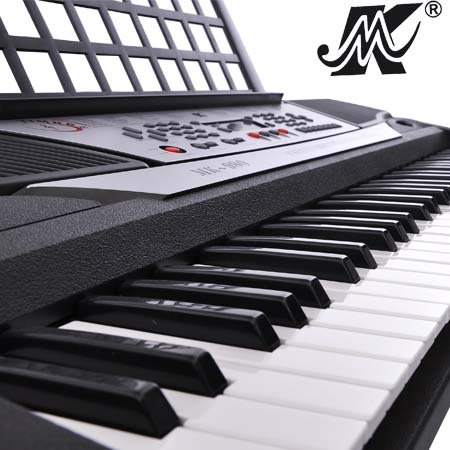 Portable Electronic Keyboard 61 Keys MK980 Piano with LED Display and 8 Demonstration Songs