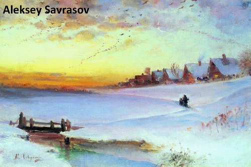 - 235 Color Paintings of Aleksey Savrasov - Russian Landscape Painter (May 24, 1830 - October 8, 1897)