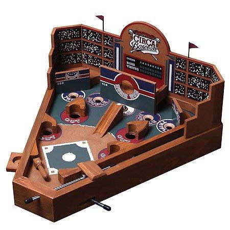 Game Pinball Baseball (University Games BS02017 Front Porch Classics Circa Baseball Pinball Game)