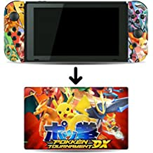 Pokken Tournament DX Game Skin for Nintendo Switch Console and Dock