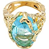 Sumanee Vintage Cute Women Big For Zircon Wedding Fashion Rings Ring Jewelry Crystal (9)