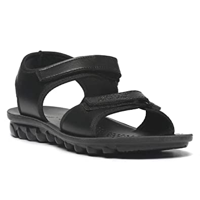 8fb3decaa PARAGON Mens Formal Black Sandal: Buy Online at Low Prices in India -  Amazon.in