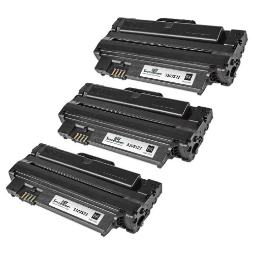 Speedy Inks - Compatible 3-Pack Dell 330-9523 7H53W High Yield Black Toner Cartridge for use in Dell 1130, 1130N, 1133, & 1135N