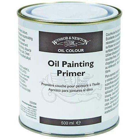 - Winsor & Newton 3050994 Oil Painting Primer