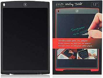 XIDO LCD Writing Tablet, de 12 pulgadas LCD digital Pizarra escritura Pad tableta gráfica Tablet PC Writer electrónica Dibujo Niños – Cuaderno de ...